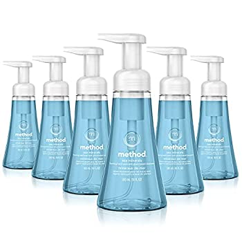 Method Foaming Hand Soap Sea Minerals 10 oz 6 pack Packaging May Vary