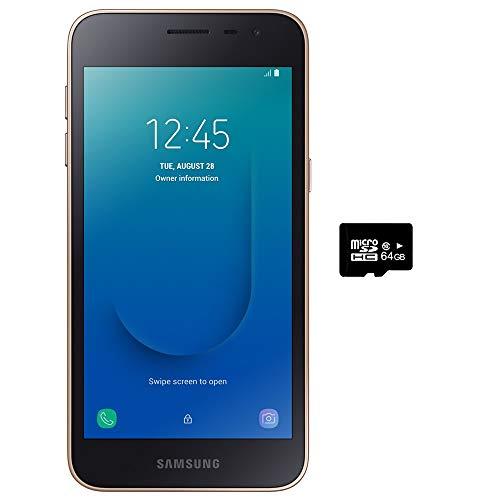 10 - Samsung Galaxy J2 Core 2018 Factory Unlocked 4G LTE (USA Latin Caribbean) Android Oreo SM-J260M Dual Sim 8MP 8GB (Gold)
