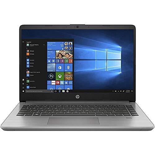 HP 340S G7 Notebook PC, Silver, Intel Core i5-1035G1, 8GB RAM, 256GB SSD, 14.0' 1366x768 HD, HP 1 Year Warranty, IT Keyboard, (renewed)
