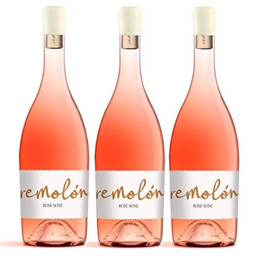 Rosado Cigales - REMOLÓN ROSÉ 2020 (3 x 75 cl.) - Vino de Cigales - Fresco, Divertido, Diferente