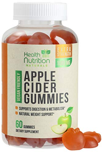 Apple Cider Vinegar Gummies for Weight Support and Cleanse...