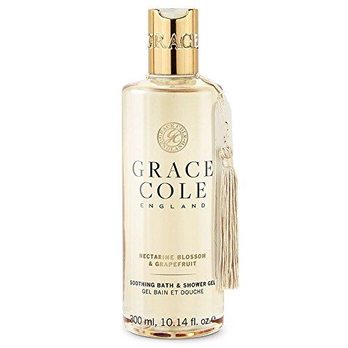 Gel douche et bain 300 ml par Grace Cole - Nectarine Blossom & Pamplemousse