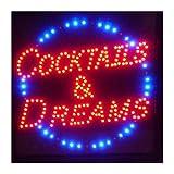 CHENXI Bar Pub Bière LED Neon Light Sign Home Decor Shop Signes du LED Taille 48x48cm Utilisation en intérieur Moderne 48 X 48 CM H