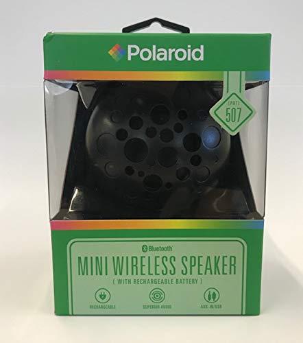 Polaroid Sistema de Bluetooth inalámbrico Mini Altavoz Recargable y portátil