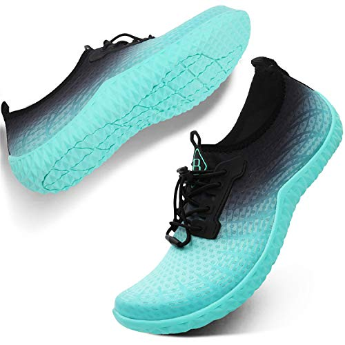 Spesoul Womens Mens Water Sports Shoes Outdoor Quick Dry Barefoot Athletic Aqua Shoe for Beach Swim Pool Surf Diving Yoga 8 Women