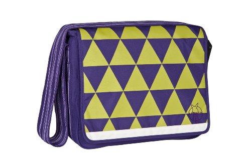 Lässig Sac à Langer Casual Messenger Bag - Triangle - Pourpre Foncé - Nouveau Dessin