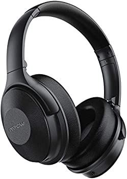 Mpow 45Hrs Active Noise Cancelling Bluetooth Headphones with Microphone
