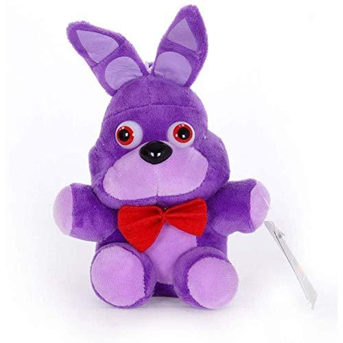 Ozsjrq El muñeco de Peluche Bonnie Rabbit, niños, Regalo de cumpleaños 18cm