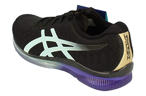 Asics Gel-Quantum Infinity Mujeres Running Trainers 1022A051 Sneakers Zapatos (UK 5.5 US 7.5 EU 39, Black Icy Morning 002)