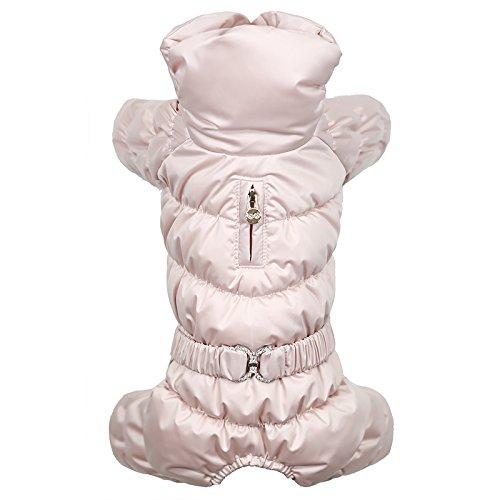 Puppy Angel Luxury Ensemble pour Chien Femelle Rose Clair Taille M/L