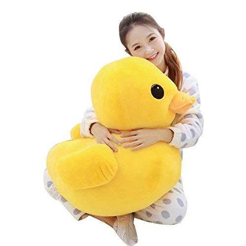 Naughty baby Gelbe Ente Kuscheltiere Plüschtier Nette Große Gelbe Ente Plüschtiere Für Geburtstag Baby Geschenk Größe 12Cm-50Cm, 50Cm