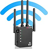 WiFi Range Extender Repeater,1200Mbps Router Wireless WiFi Signal Booster, 2.4 and 5GHz WiFi Extender Signal Amplifier with AP/Router/Repeater Mode,Access Point | Easy Set-Up | 2021 Upgraded