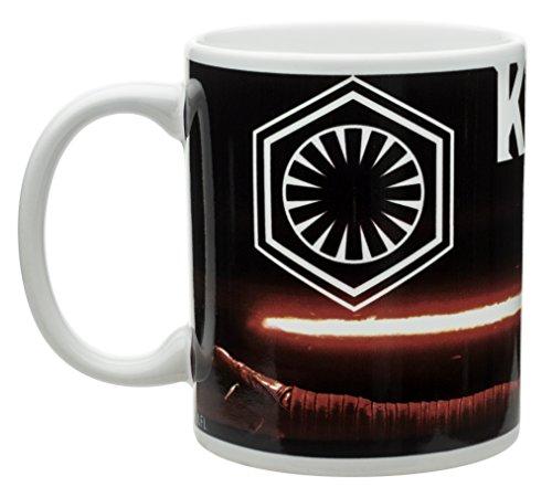 Zak Designs Star Wars Episode 7 11 oz. Ceramic Coffee Mug, Kylo Ren -  SWRH-1590
