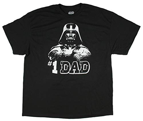 Price comparison product image Star Wars - Numero Uno Dad Father's Day T-Shirt (X-Large), Black