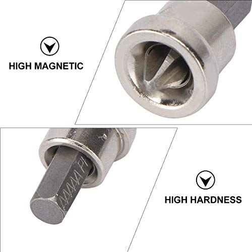 BESTOMZ 10pcs PH2 Hex Shank Drywall Dimpler Bits Drilling Bits Suitable for Plasterboard Screws Locating
