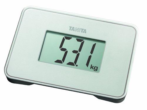 Tanita HD-386 - Báscula de viaje, color blanco