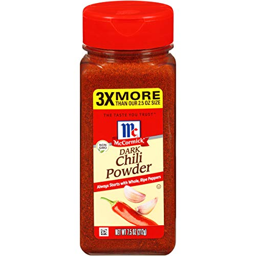 7.5oz McCormick Dark Chili Powder  $3.53 at Amazon