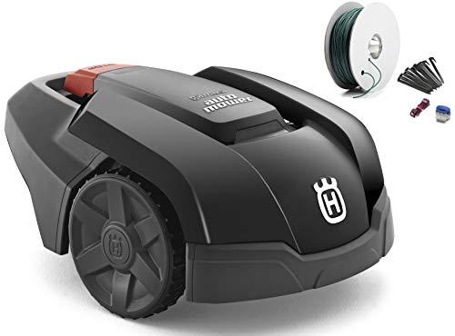 ハスクバーナ ロボット芝刈機 Automower 105(黒) Sキット付