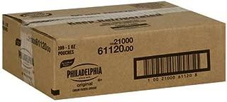 Kraft Philadelphia Original Cream Cheese Spread - Pouch, 1 Ounce -- 100 per case.