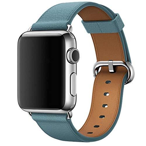 Correa de reloj para correa de reloj de AppleSerie 6 SE 5 4 3 2 1 para Iwatch 38 mm 42 mm Muñeca para correas de reloj de Apple 44 mm 38 mm 42 mm 40 mm-Azul, 38 mm para serie 123