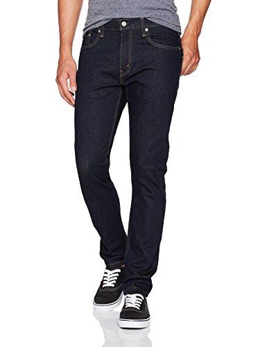 Levi's Men's 512 Slim Taper Fit Jeans, Dark Hollow - Stretch, 30W x 32L