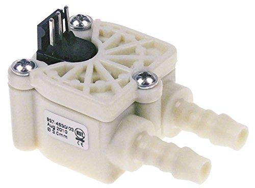 Animo Flowmeter für Kaffeemaschine M200W, MT200W, M202W, MT202W, MT200Wp Kunststoff 2mm Schlauchanschluss 8mm NSF