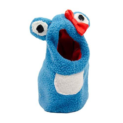 KEBY pet kostüm Papagei Frosch Stil Hoodie Vogel Winter Kleidung Pullover Cartoon Mantel Overall Pullover Warme Kleidung für Wellensittich Nymphensittich Conure Kakadu Afrikanischen Grau Ara