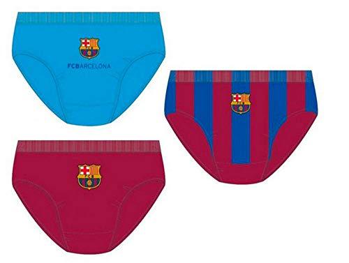 Lot de 3 slip dans une boîte cadeau FC Barcelone