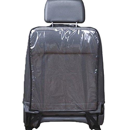 Auntwhale Voiture Auto Protecteur de dossier de siège Couvrir la banquette arrière pour les bébés d'enfants Kick Mat Protège de Mud Dirt