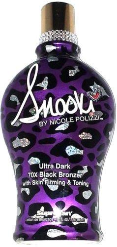 Snooki Ultra Dark 70X Black Bronzer Skin Firming Tanning Bed Lotion by Supre 12 fl. oz. (350 ml)