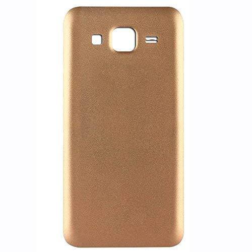 UU FIX Tapa de Batería para Samsung Galaxy J5 J500 (Dorado).