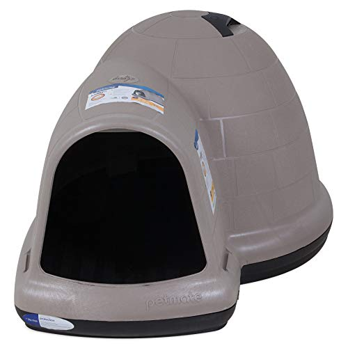 Petmate Indigo Dog House All-Weather Protection Taupe/Black 3...