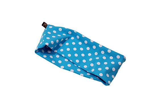 beckys-welt: Baumwoll Haarbänder im Rockabilly-Style (blau)
