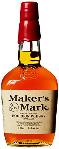 Maker's Mark Handgemachter Kentucky Straight Bourbon Whisky, 45% Vol, 1 x 1l