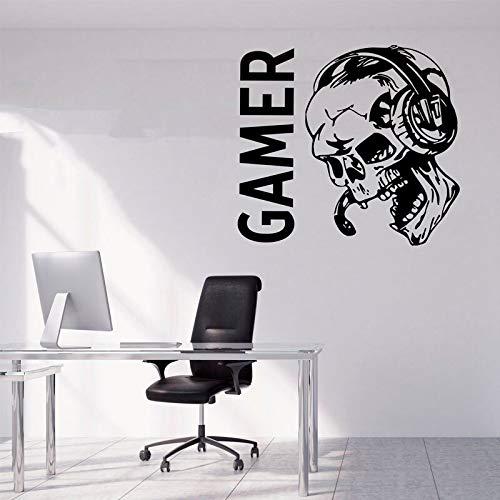 Sugar Skull game sticker, video game gift game aanbieding poster vinyl sticker game room decoratie wall art print 46x42cm