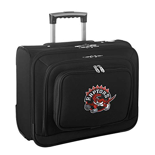 Affordable NBA Toronto Raptors Wheeled Laptop Overnighter