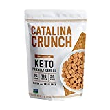 Catalina Crunch Honey Graham Keto Cereal: Keto Friendly, Low Carb, Zero Sugar, Plant Protein, High Fiber, Gluten & Grain Free