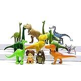 Nice Figures The Good Dinosaur Arlo Spot Budda Ramsey 12 PCS Action Figure Toy Kids Xmas Gift Durable