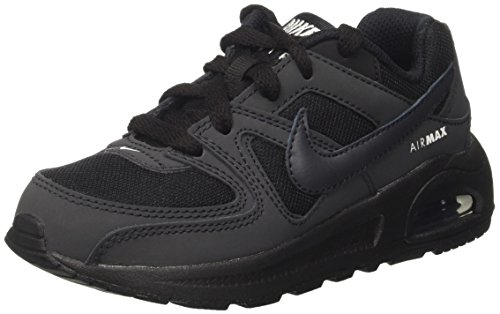 Nike Jungen Air Max Command Flex (ps) Laufschuhe, Schwarz (Black/Anthracite/White 002), 31 EU