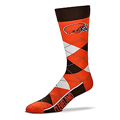 For Bare Feet Adult NFL Crew Socks Size: Adult One Size - Cleveland Browns