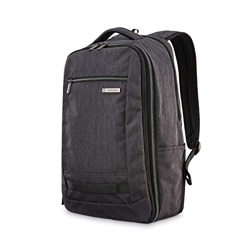 Samsonite Modern Utility Travel Backpack, Charcoal Heather, One Size