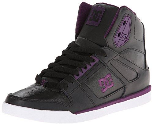 DC Shoes Damen Rebound Slim Hi Sneaker, Schwarz - Noir (Blk), 40 EU
