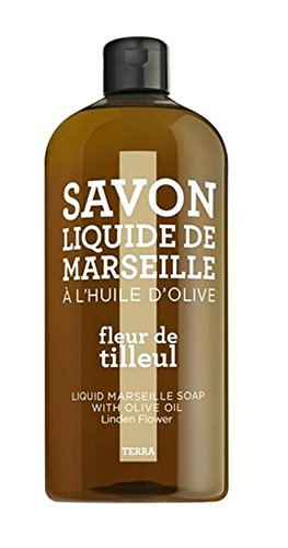 TERRA by Compagnie de Provence – Savon Liquide Fleur de Tilleul 1 L