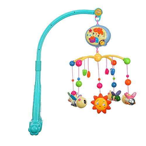 Buy Discount Fine Music Bed Bell, Baby Crib Decoration Musical Spiral Activity Hanging Toys Funny Ro...