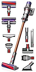 Two Cleaner Heads for Complete Hard Floor and Carpet Cleaning - Extremely Versatile Cleaner with No Cords! The Dyson Digital V10 Motor Spins At Up to 125,000 RPM to Generate Powerful Suction and a Powerful Handheld Vacuum - Up to 60 Minutes of Run Ti...