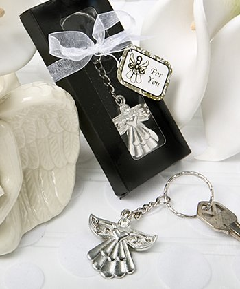 Guardian Angel Key Ring Favors , 48