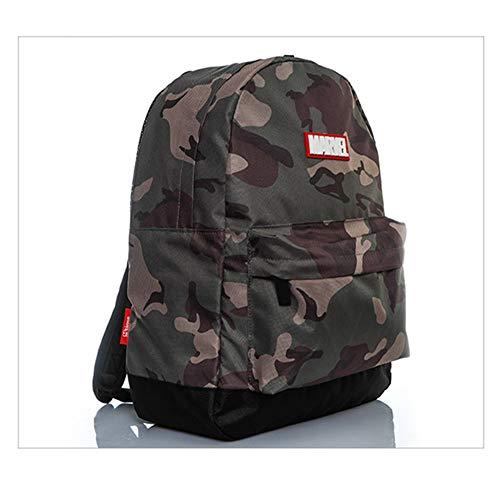 Smile Laptop-Tasche Camouflage Wind Rucksack Umhängetasche Komfortable und langlebige Freizeit Reisetasche,Camouflage