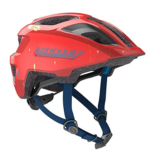 Scott Spunto Bike Helmet Best Kids All Purpose Bicycle Helmet with Graphics CPSC Approved (Fiery Red, One Size Fits All OSFA)