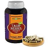 VITAIDEAL ® Taubnessel (Lamium album L.i) 180 Kapseln je 480mg, aus rein natürlichen Kräutern, ohne Zusatzstoffe von NEZ-Diskounter