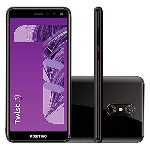 """Smartphone Positivo Twist 3 S513 32GB Dual Chip 5.5"""" - Preto"""